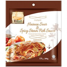 Instant Hainan Sour and Spicy Steam Fish Paste