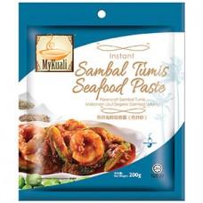 Instant Sambal Tumis Seafood Paste (Sambal Udang)